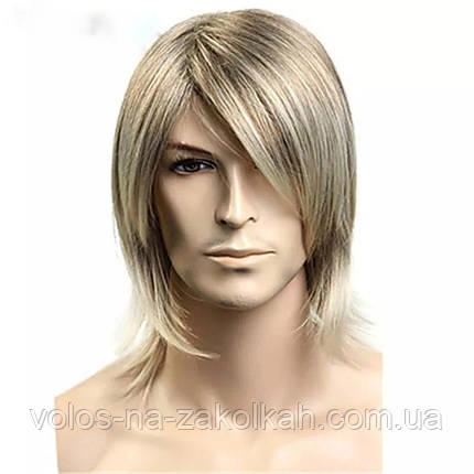 Парик мужской Олег Винник парик блондин для мужчины, фото 2