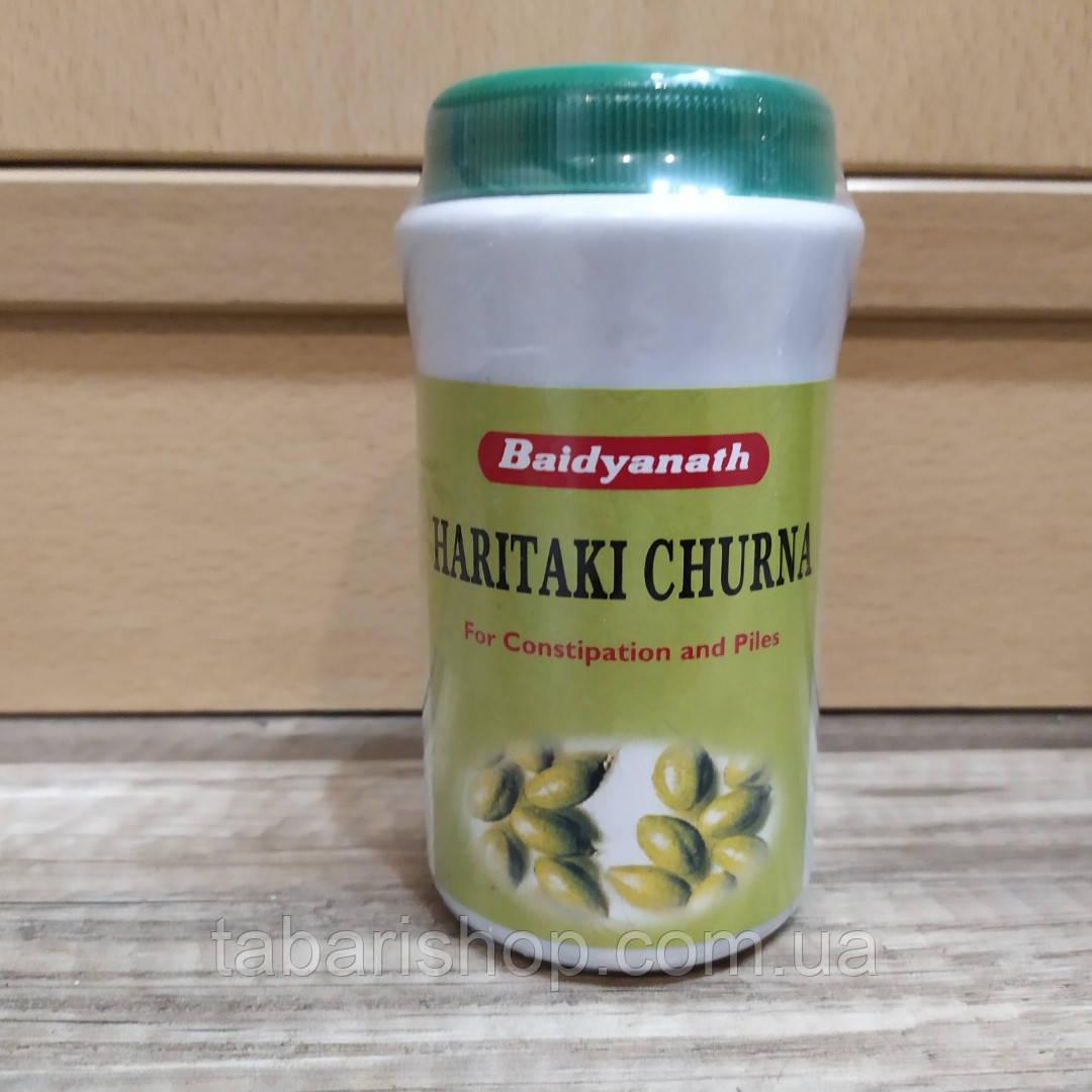 Харитаки Чурна, Haritaki Churna Baidyanath, 100гр