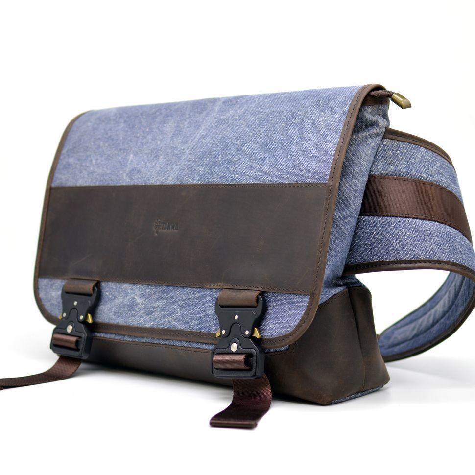 Эксклюзивная мужская сумка через плечо