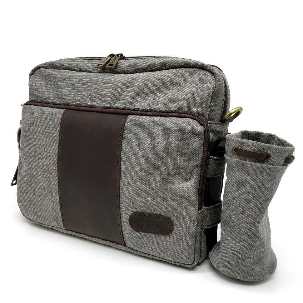Спортивная сумка через плечо с отделением для бутылочки