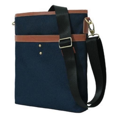 Легкая тканевая мужская сумка через плечо