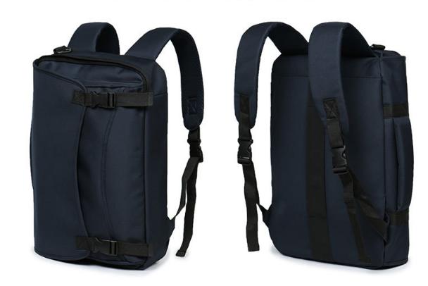 Многофункциональная тканевая сумка-рюкзак для мужчин