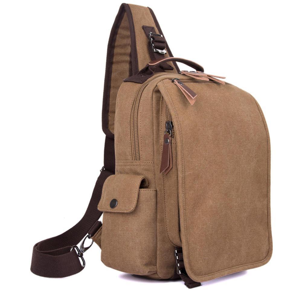 Рюкзак слинг мужской тканевый