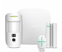 Комплект сигнализации Ajax Starter Kit Cam белый
