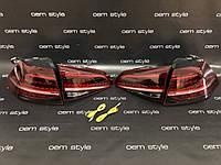 Задние фонари Volkswagen Golf 7 GTI 2013-2017 USA Full LED, фото 1