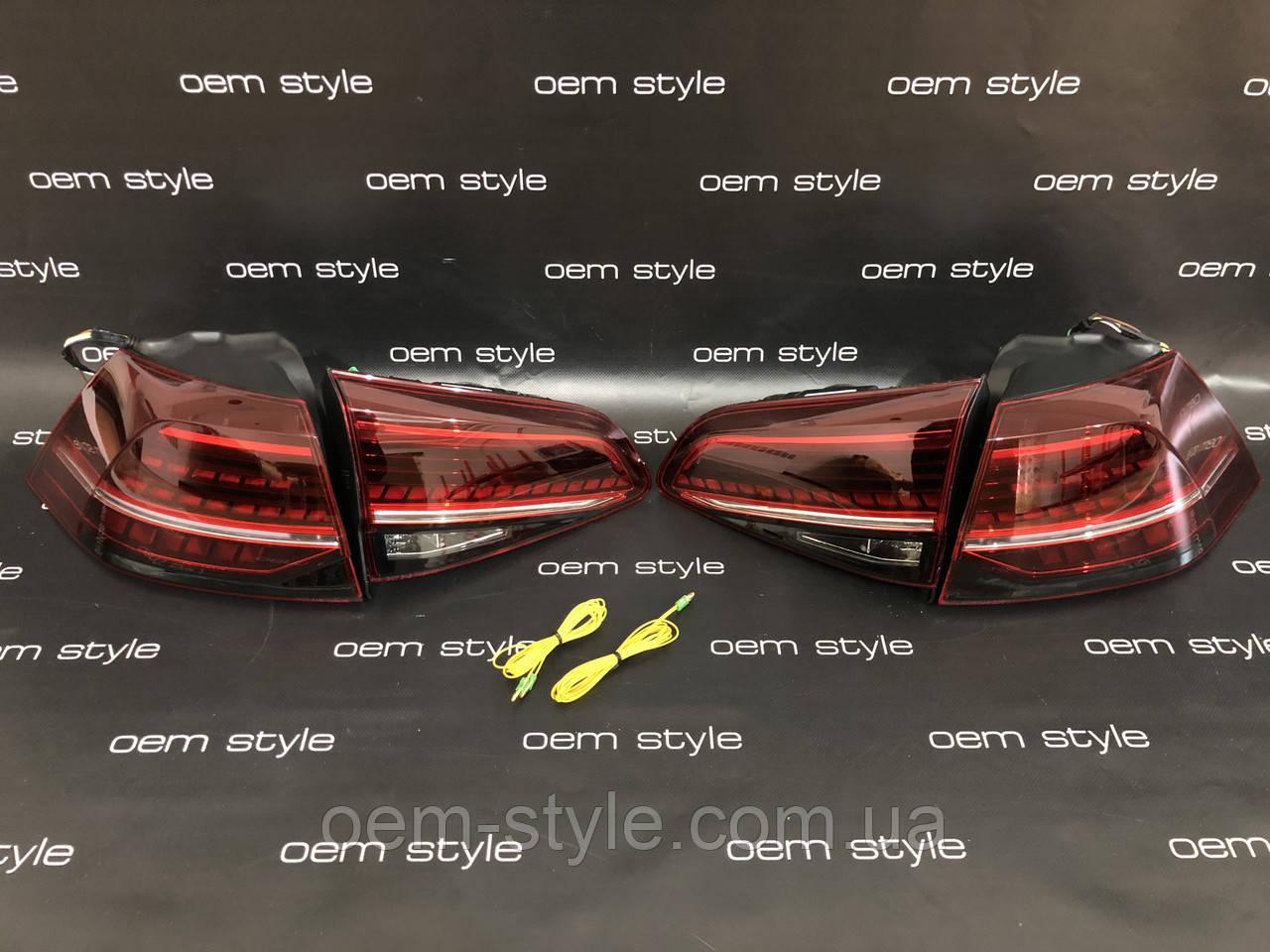 Задние фонари Volkswagen Golf 7 GTI 2013-2017 USA Full LED