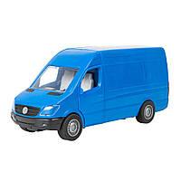 Автомобиль Mercedes-Benz Sprinter грузовой синий (39653)
