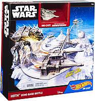"Игровой набор ""Битва за базу Эхо"" серии ""Star Wars"" Hot Wheels Эхо ОРИГИНАЛ Mattel"