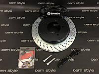 Задняя тормозная система Brembo GT Black Toyota Land Cruiser 200, фото 1