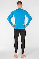 Термобелье спортивное мужское Radical Acres S Черный с голубым