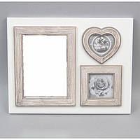 "Зеркало деревянное для декора ""Memories"" PR037, размер 33х25 см, зеркало декоративное, настенное зеркало"