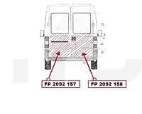 Ремчасть двери CITROEN JUMPER 94-01 задняя левая нижн. большая высота 96см. (FPS). FP2092157