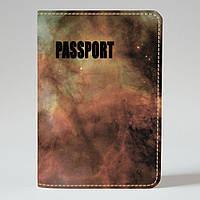 Обложка на паспорт v.1.0. Fisher Gifts 518 Звездная энергия (эко-кожа)
