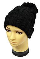 Классическая теплая шапочка