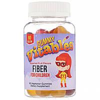 Vitables Жевательная клетчатка для детей без желатина фруктовая 60 капсул gummy fiber for children