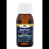 Oslomega Рыбий жир с омега-3 и витамином D3 Норвежская серия детский Norwegian Baby's DHA with Vitamin D3 800 mg 2 fl oz 60 ml
