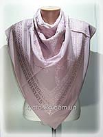 Шифоновые платки с атласной вставкой Глория, сиреневый