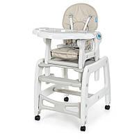 Детский стульчик трансформер для кормления Bambi М 1563