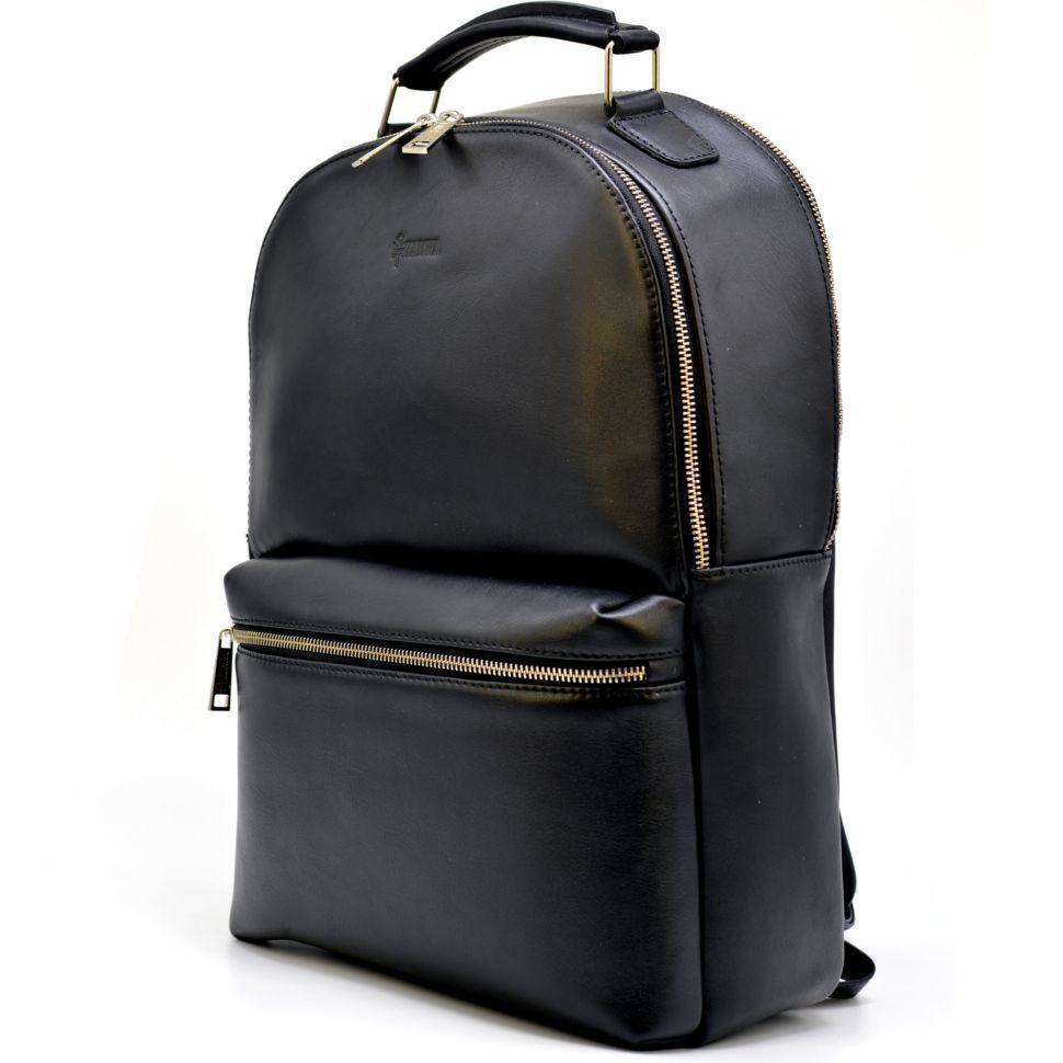Статусный рюкзак мужской кожаный