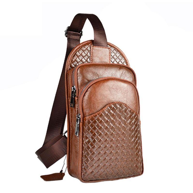 Мужской кожаный рюкзак недорого