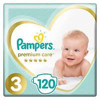 PAMPERS Детские Подгузники Premium Care Midi (6-10 кг) Упаковка 120