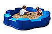 Детская большая пластиковая песочница  170см, фото 4