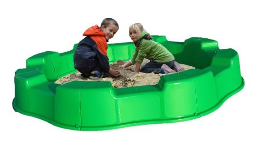 Детская большая пластиковая песочница  170см