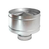Дефлектор d 125 мм из оцинкованной стали
