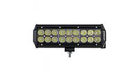 Автофара на крышу (18 LED) 5D-54W-MIX (235 х 70 х 80), Противотуманка, фото 1