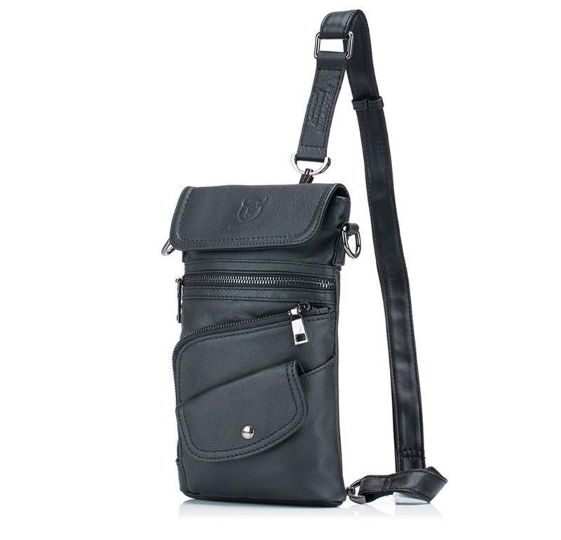 Сумка-рюкзак кожаная мужская