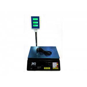 Рыночные электронные торговые весы со счетчиком цены на 40 кг DT Smart DT-5053, фото 2