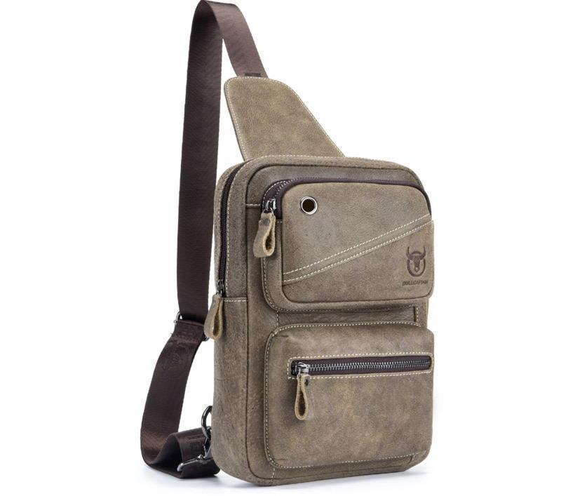 Моно рюкзак для мужчин с одной шлейкой