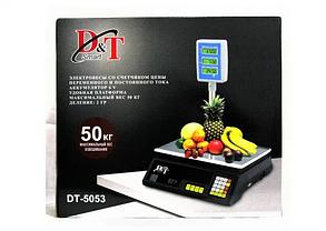 Рыночные электронные торговые весы со счетчиком цены на 40 кг DT Smart DT-5053, фото 3