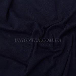 Стрейч кулир пенье темно-синий, ширина 180см