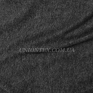 Стрейч кулир пенье темно-серый, ширина 180см