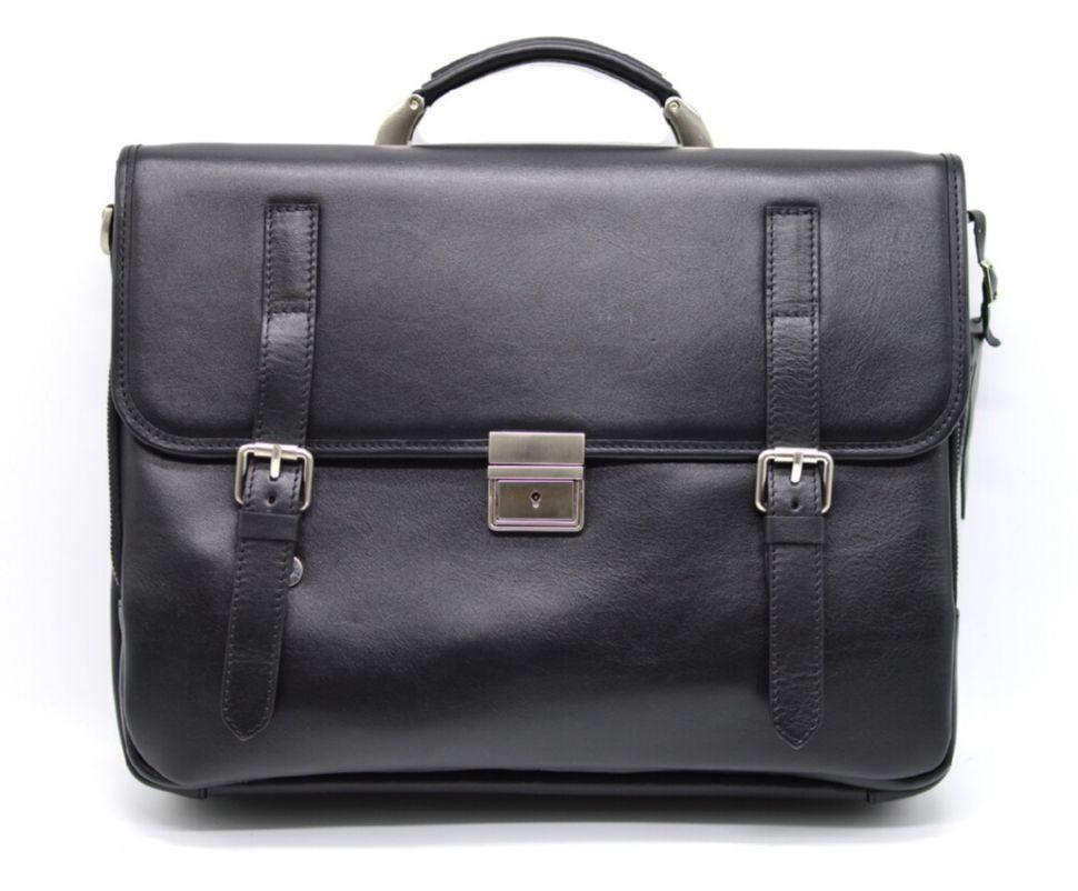 Кожаный портфель мужской из натуральной кожи телячьей кожи