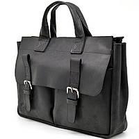 Оригинальная мужская кожаная сумка выделки crazy horse