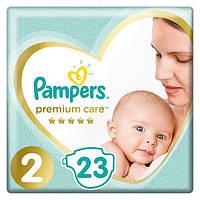 PAMPERS Детские подгузники Premium Care Mini (4-8 кг) Упаковка 23