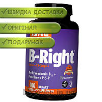 Витамины Jarrow Formulas B-Right 100 капс лимон