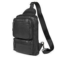 Стильная сумка рюкзак мужская одношлеечная