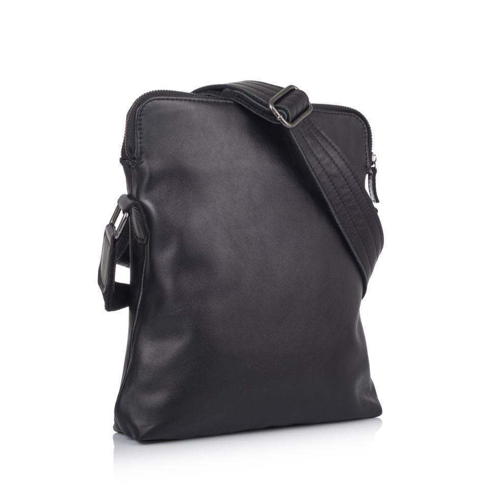 """Мужская сумка через плечо +из натуральной кожи """"чероки"""""""