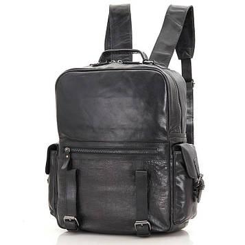 Мужской рюкзак кожаный из телячьей кожи