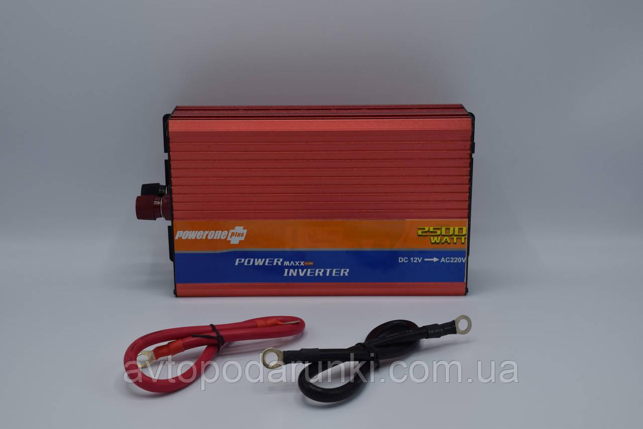 "Инвертор 12v-220v ""POWERONE pluse SSR-2500A""/2500 Ватт"