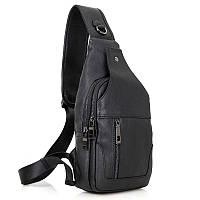 Модный рюкзак из натуральной телячьей кожи моношлейка