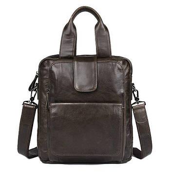 Оригинальная мужская сумка из натуральной кожи