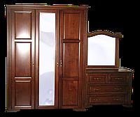 Шкаф из массива Флоренция (эмаль белая)