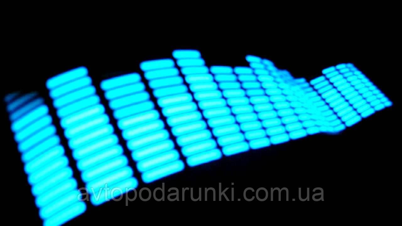 """Эквалайзер 90смх25см """"L Light-Blue"""""""