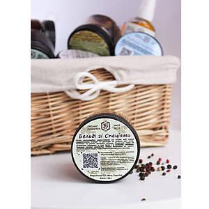 Гоммаж из оливкового масла для глубокого очищения и от Целлюлита - Специи 100 г