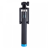 Телескопический монопод для селфи Locust S018 Bluetooth Черный (hub_rUlz60298) КОД: hub_rUlz60298