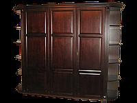 Шкаф из дерева Версаль с радиусным карнизом(2.4*h2.3*)